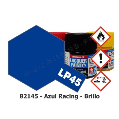 LP-45 Azul Racing - Brillo