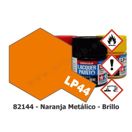 LP-44 Naranja Metálico - Brillo