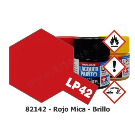 LP-42 Rojo Mica - Brillo