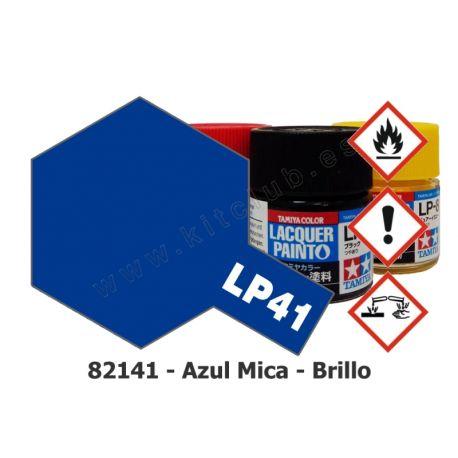 LP-41 Azul Mica - Brillo