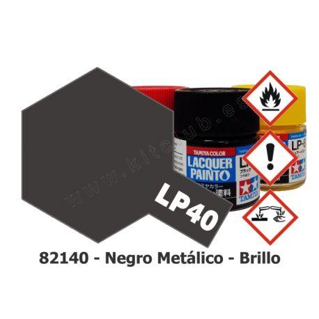 LP-40 Negro Metálico - Brillo