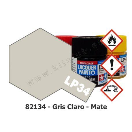 LP-34 Gris Claro - Mate