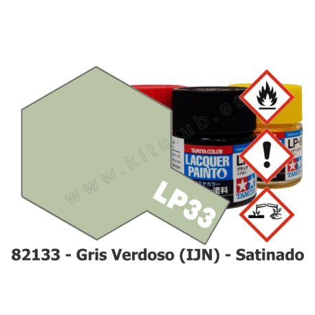 LP-33 Gris Verdoso IJN - Satinado