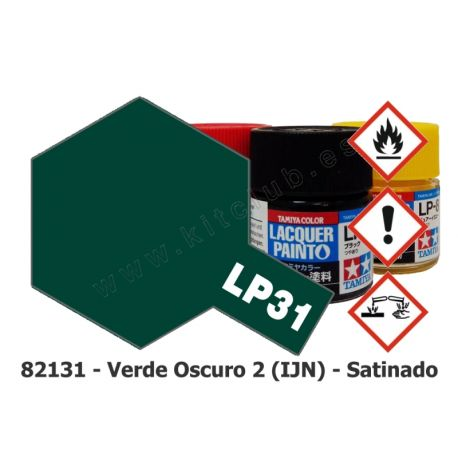 LP-31 Verde Oscuro 2 IJN - Satinado