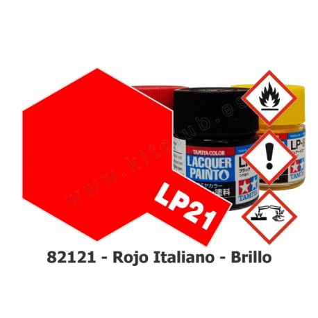 LP-21 Rojo Italiano - Brillo