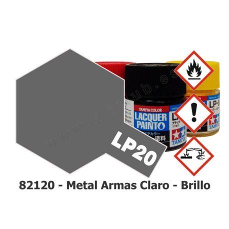 LP-20 Metal Armas Claro - Brillo