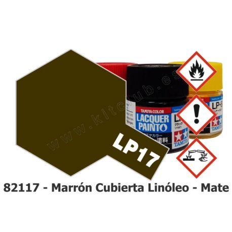 LP-17 Marrón Cubierta Linóleo - Mate