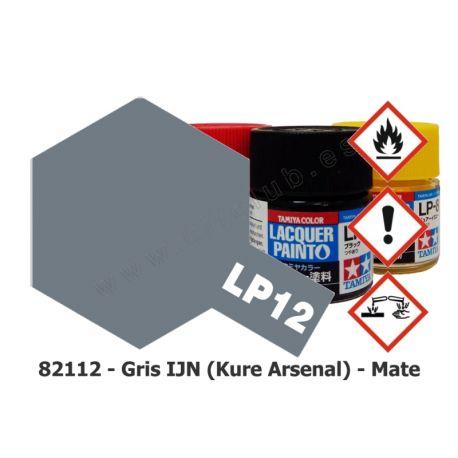 LP-12 Gris IJN (Kure Arsenal) - Mate