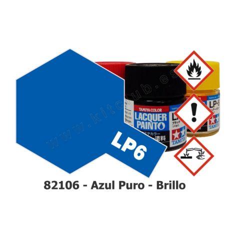 LP-6 Azul Puro - Brillo