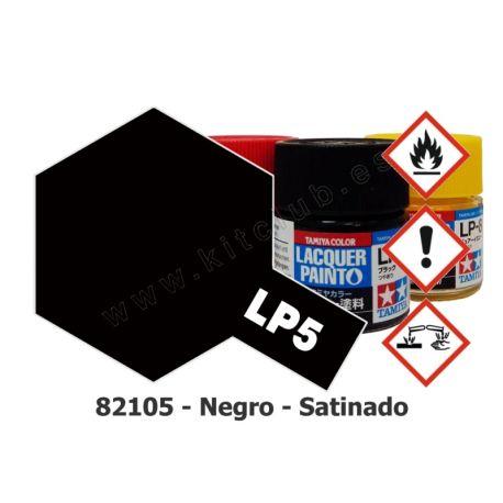 LP-5 Negro - Satinado