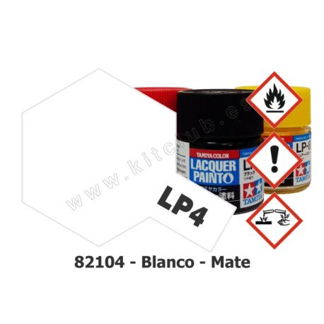 LP-4 Blanco - Mate