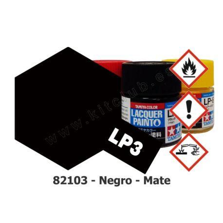 LP-3 Negro - Mate