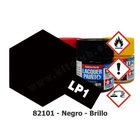 LP-1 Negro - Brillo