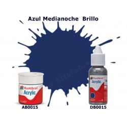 Azul Madianoche Brillo - Humbrol 0015