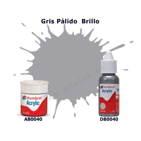 Gris Pálido Brillo - Humbrol 0040