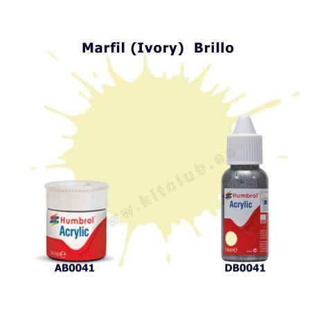 Marfil (Ivory) Brillo - Humbrol0041