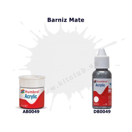 Barniz Mate - Humbrol 0049