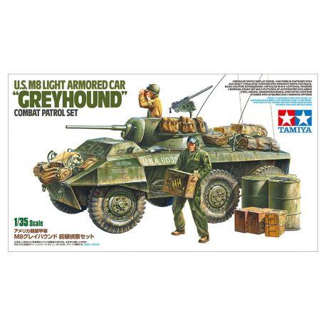 """U.S. M8 Light Armored Car """"Greyhound"""""""