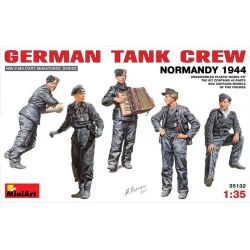 German Tank Crew - Normandy 1944
