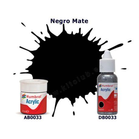 Negro Mate - Humbrol 0033