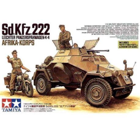 Sd.Kfz.222 Leichter Panzerspähwagen 4x4 Afrika-Korps