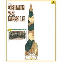 Misil Alemán V2 y Centro de Comunicaciones
