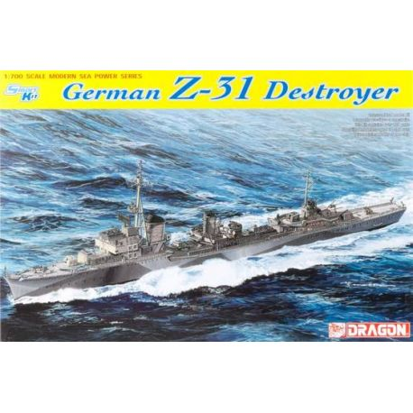 German Z-31 Destroyer