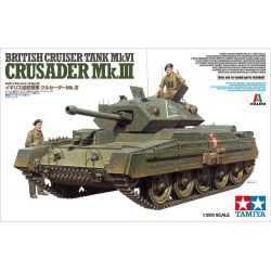 British Cruiser Tank Mk.VI Crusader Mk.III - Tamiya 37025