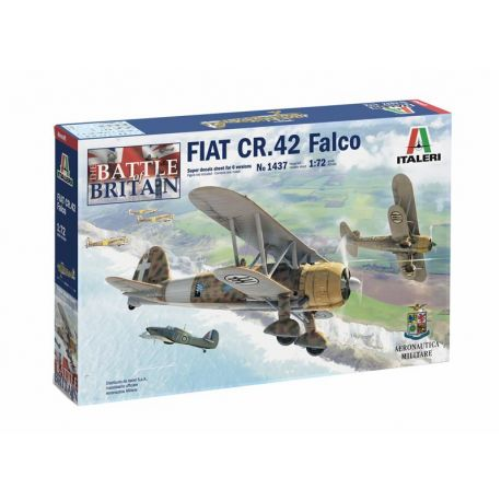 FIAT CR.42 Falco - Italeri Battle of Britain
