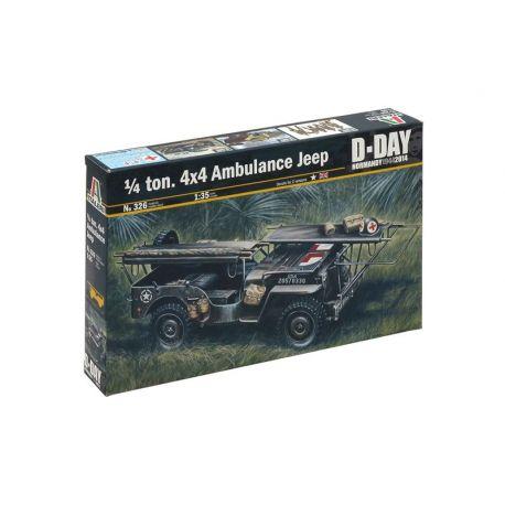 1/4 ton. 4x4 Ambulance Jeep