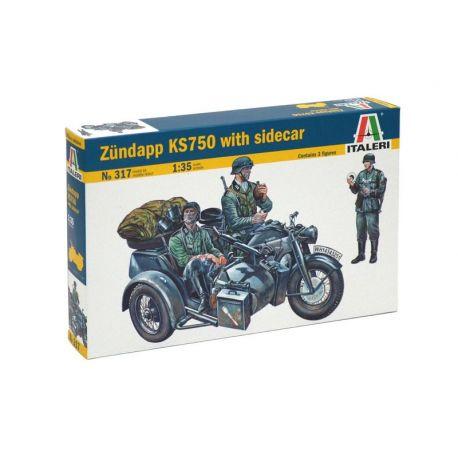 Zundapp KS 750 con Sidecar