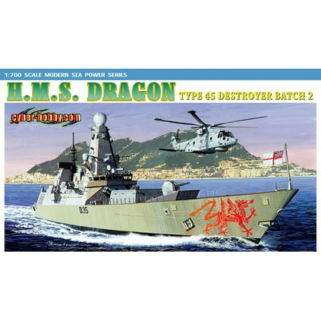 H.M.S. Dragon Type 45 Destroyer Batch 2