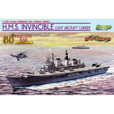 H.M.S. Invincible Light Aircraft Carrier