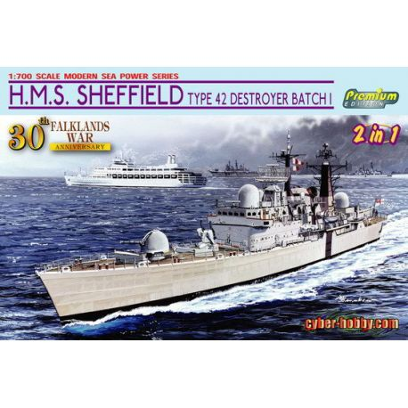 H.M.S. Sheffield Type 42 Destroyer Batch 1