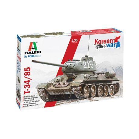 Tanque T-34/85 Korean War