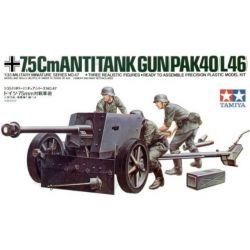 German 75mm Anti-Tank Gun Pak40