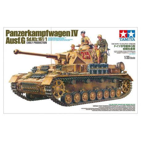 German Tank Panzerkampfwagen IV Ausf.G