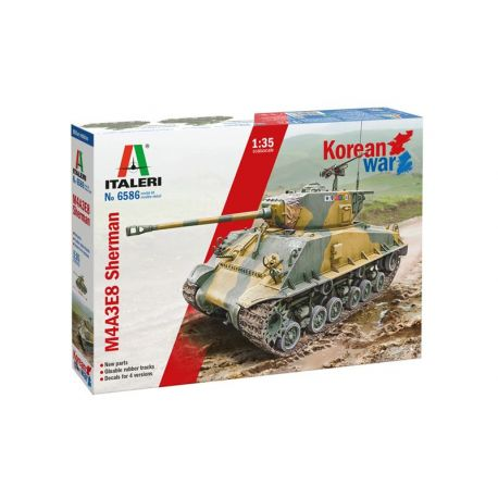Sherman M4A3E8 - Korean War