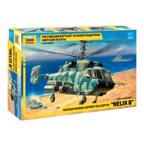 Russian marine helicopter Kamov Ka-29
