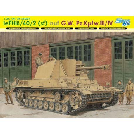 leFH18/40/2 (sf) auf G.W. Pz.Kpfw.III/IV