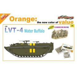 LVT-4 Water Buffalo + U.S. Marines (4figuras)