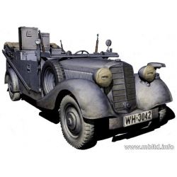 Mercedes-Benz VK-170 (Radio Car) WW II